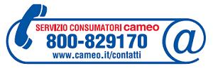 Servizio consumatori cameo 800829170